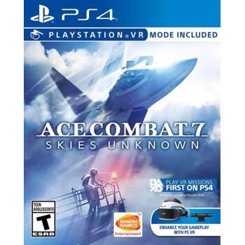 Ace Combat 7: Skies Unknown (поддержка PS VR) (PS4) (Рус)