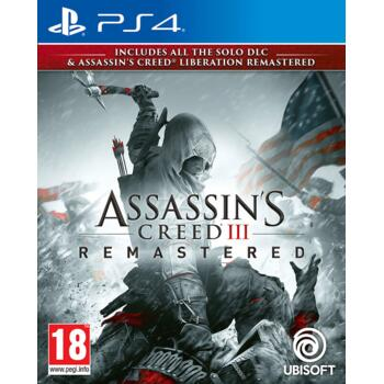 Assassin's Creed III Remastered (PS4) (Рус)