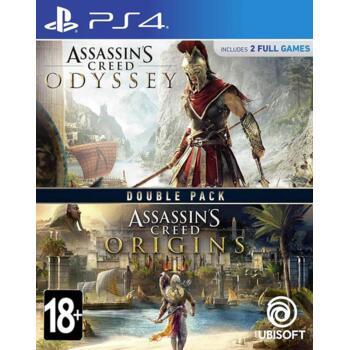 Assassin's Creed Origins (Истоки) + Odyssey (Одиссея) (PS4) (Рус)