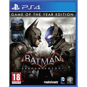 Batman: Arkham Knight - Game Of The Year Edition (PS4) (Рус)
