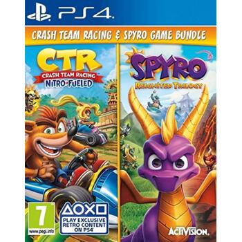 Crash Team Racing: Nitro-Fueled + Spyro Reignited Trilogy (PS4) (Eng)