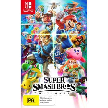 Super Smash Bros. Ultimate (Nintendo Switch) (Рус) (Б/У)