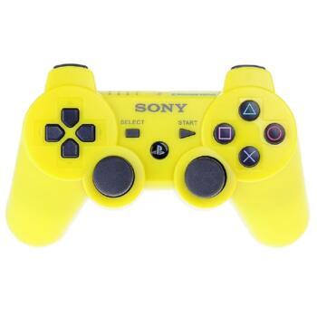 Джойстик для PlayStation 3 Беспроводной (Dualshock 3) Желтый