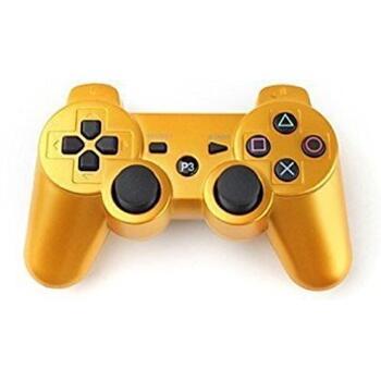 Джойстик для PlayStation 3 Беспроводной (Dualshock 3) Золотой
