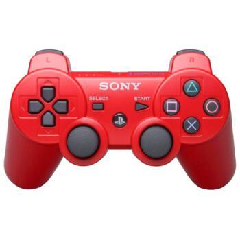 Джойстик для PlayStation 3 Беспроводной (Dualshock 3) Красный