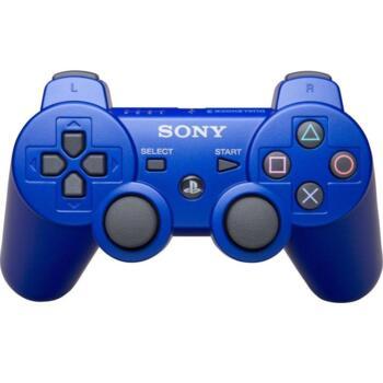 Джойстик для PlayStation 3 Беспроводной (Dualshock 3) Синий