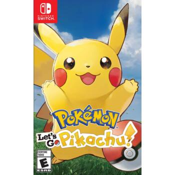 Pokemon Let's Go Pikachu (Nintendo Switch) (Eng) (Б/У)