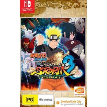 Naruto Shippuden: Ultimate Ninja Storm 3. Full Burst (Nintendo Switch) (Рус)
